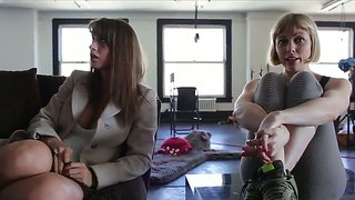 Interview with two chicks adrianna nicole and karina white