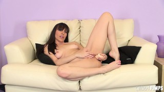 Dana dearmond bares her naughty pink asshole for the cameras
