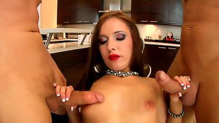 Erik everhard and ramon nomar dancing in the sheets with amazing whore ashli orion