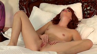 Frisky elle alexandra gets real self satisfaction